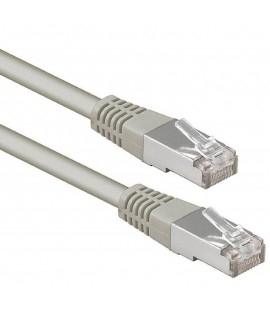 Cable Réseau UTP CAT 6 RJ45 5M - Gris