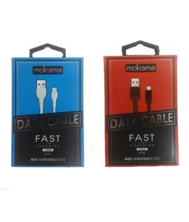 Cable Micro USB 1m MOKAMA M-002