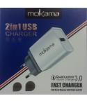 Chargeur Micro USB 3.1A MOKAMA