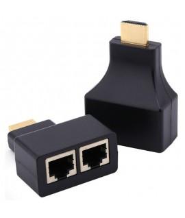 Extendeur HDMI FHD 1080p Par Câble Réseau Cat 5e/6 - 30 M