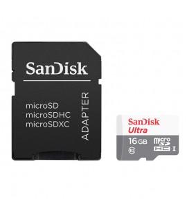 Carte Mémoire ULTRA Micro SDHC 16 Go SANDISK - Class 10