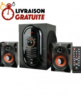 Subwoofer GOLD SOUND GS-211 Avec Bluetooth - 20W