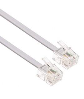 Cable RJ11 pour Téléphone Fixe - 5M