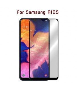 Samsung A10S - Protection FULL SCREEN GLASS Noir