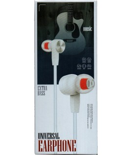Ecouteur avec Micro EXTRA BASS
