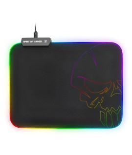 Tapis Souris Gaming SOG SKULL RGB - Medium