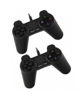Manette de Jeu Double Simple