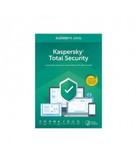 Antivirus KASPERSKY Total Security 2020 - 1 an / 3 Pc
