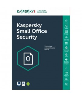 Kaspersky Small Office Security 2020 - 1 an / 5 Pc + 1 serveur