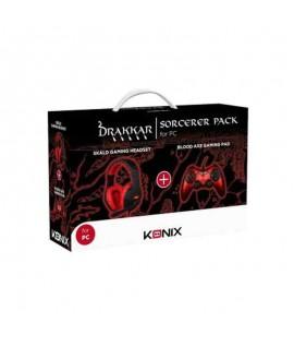 Pack Gaming SORCERER KONIX DRAKKAR Casque + Manette