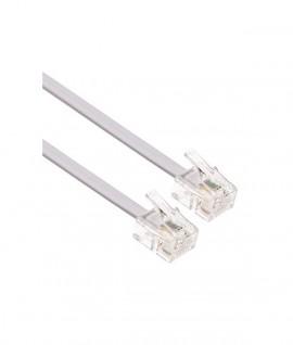 Cable RJ11 pour Téléphone Fixe - 3M