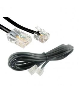 Cable RJ11 pour Téléphone Fixe - 10M