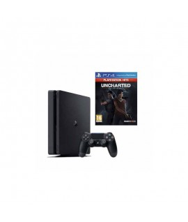 PlayStation 4 SONY 500Go Slim Noir + JEU UNCHARTED THE LOST LEGACY HITS