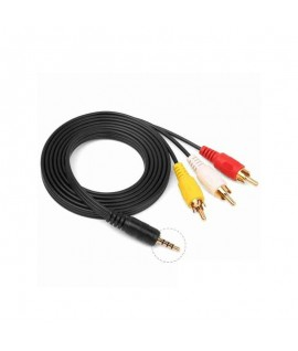 Cable Audio Jack Vers 3 RCA 1,5M