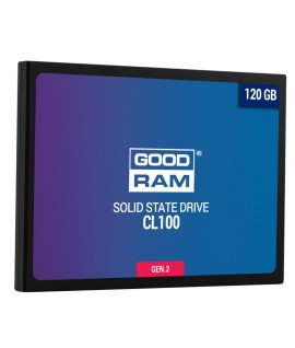 Disque Dur Interne SSD GOODRAM CL100 GEN2 120 GO 2.5""