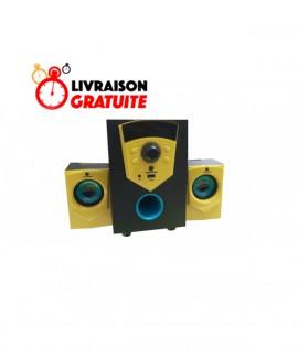 Subwoofer GOLD SOUND GS-210 Avec Bluetooth - 20W
