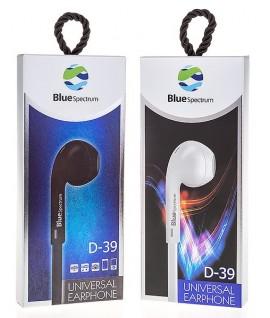 Ecouteur avec Micro Blue Spectrum D-39