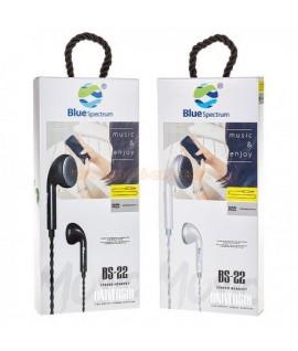 Ecouteur avec Micro Blue Spectrum BS-22