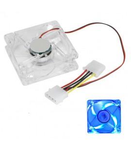 Ventilateur de Boitier LED Bleu - 80mm