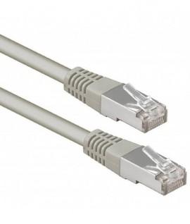 Cable Réseau UTP CAT 5E RJ45 25M - Gris