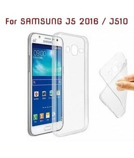 Samsung Galaxy J510 / J5 (2016) - Etui en Silicone Transparent