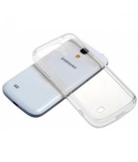 Etui en Silicone pour Samsung Galaxy S4 / Transparent