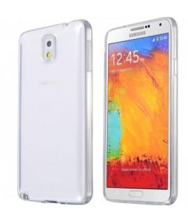 Etui en Silicone pour Samsung Galaxy Note 4 / Transparent