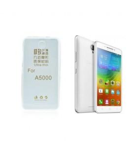 Etui en Silicone pour Lenovo A5000 / Transparent