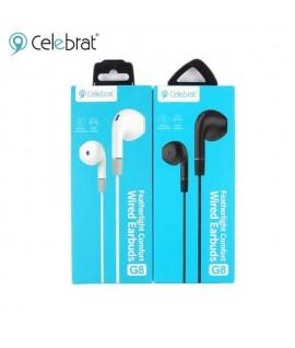 Ecouteur avec Micro CELEBRAT G8