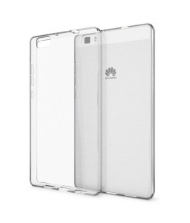 Etui en Silicone pour Huawei P8 / Transparent