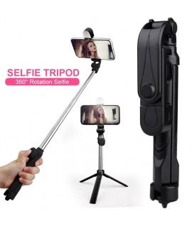 Selfie Trépied 4 en 1 Bluetooth X-10S