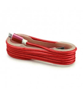 Cable Tissu en nylon Tressé USB vers Micro USB