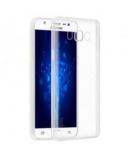 Etui en Silicone pour Samsung J7/ Transparent