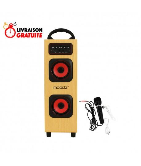Haut Parleur Bluetooth - MP3 6W + Microphone MOODZ TS120B