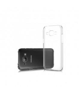 Etui en Silicone pour Samsung J1 ACE / Transparent