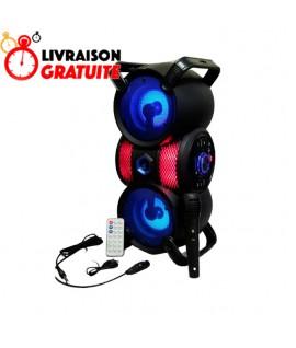 Haut Parleur Bluetooth - MP3 - Radio FM 16W - ZQS-4229