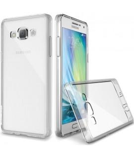 Etui en Silicone pour Samsung A7-2016 / Transparent