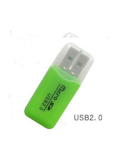 Lecteur de Carte Mémoire Micro SD USB 2.0