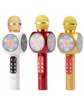 Microphone Karaoké KTV WS-1816 avec LED