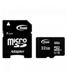 Carte Mémoire TEAM GROUP 32GB Class 10 avec Adaptateur