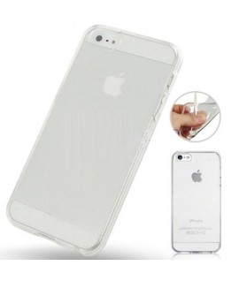 Etui en Silicone pour iPhone 5 / Transparent