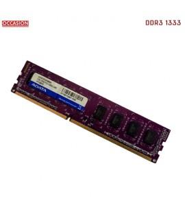 Barrette Mémoire PC ADATA 2GB DDR3 1333 Mhz - OCCASION