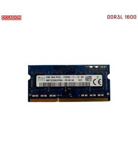 Barrette Mémoire PC SKhynix 2GB DDR3L 1600 Mhz - OCCASION
