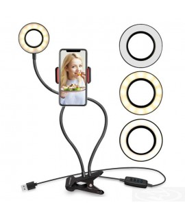 Ring Light avec Support Pour Smartphone