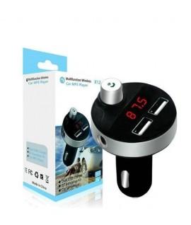 Transmetteur FM Bluetooth X12 + Charge 2.1A