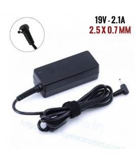 Chargeur Pc - ASUS - 19V 2.1A - Bec 2.5x0.7mm