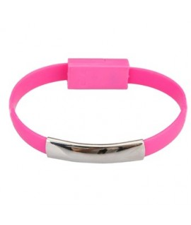 Cable Bracelet Rose Micro USB