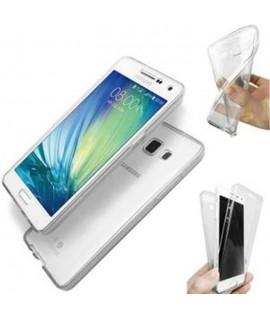 Etui en Silicone Transparent pour Samsung A7 2016