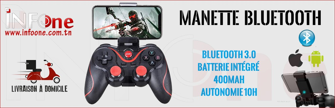 Manette de jeu Bluetooth