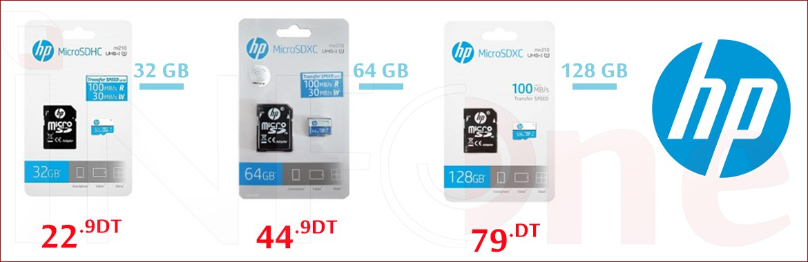 Carte Mémoire Micro SD HP